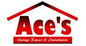 Ace's Garage Door Repair & Installation logo