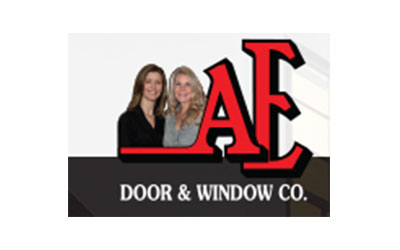 AE Door & Window Co. logo