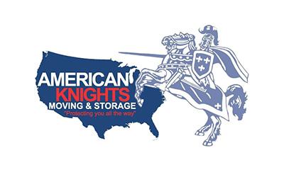 American Knights Moving logo