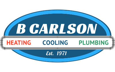 B. Carlson Heating, Air Conditioning & Plumbing logo