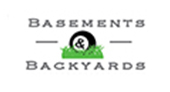 Basements and Backyards logo