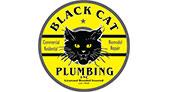 Black Cat Plumbing logo