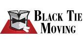 Black Tie Moving Dallas logo