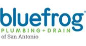 Bluefrog Plumbing Drain of San Antonio logo