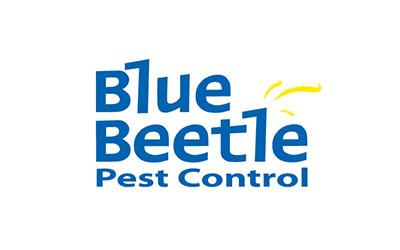 Blue Beetle Pest logo