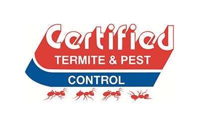Certified Termite & Pest Control logo