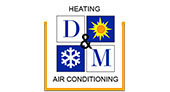 D & M Heating & Air Conditioning logo