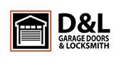 D&L Garage Doors & Locksmith logo