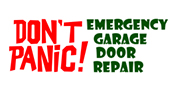 Don't Panic Emergency Garage Door Repair logo