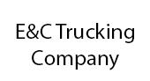 E&C Trucking Company logo
