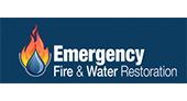 Emergency Fire & Water Restoration logo