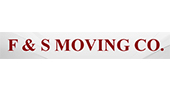 F & S Moving logo