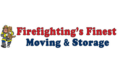Firefighting's Finest Moving & Storage logo