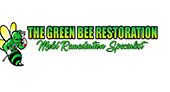 The Green Bee Restoration logo