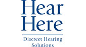 Hear Here Discreet Hearing Solutions logo