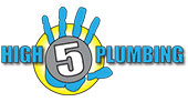 High 5 Plumbing logo