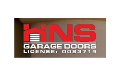 HNS Garage Doors logo