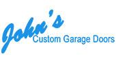 John's Garage Door Repair logo