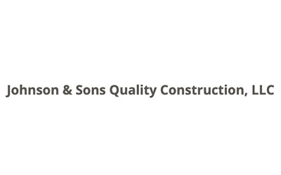 Johnson & Sons Quality Construction logo