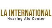 LA International Hearing Aid Center logo