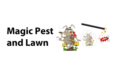 Magic Pest & Lawn logo