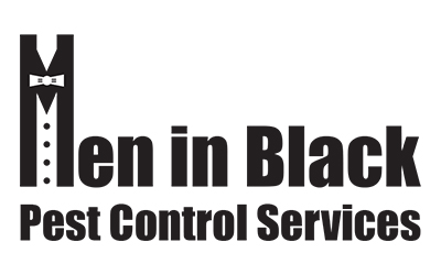 Men in Black Pest Control Services logo