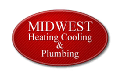 Midwest Heating Cooling and Plumbing logo
