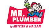Mr. Plumber by Metzler & Hallam logo
