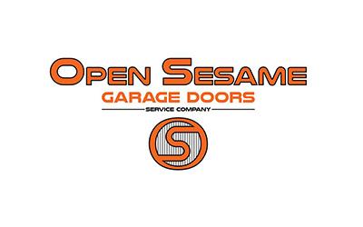 Open Sesame Garage Doors logo
