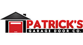 Patrick's Garage Door Company logo