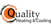 Quality Heating & Cooling logo