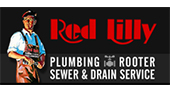 Red Lilly Plumbing logo