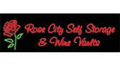 Rose City Self Storage & Wine Vaults logo