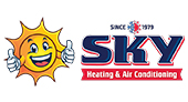 Sky Heating and Air Conditioning logo