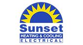 Sunset Heating & Cooling logo