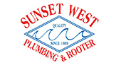 Sunset West Plumbing & Rooter Inc. logo
