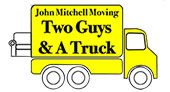 John Mitchell Moving (Two Guys & A Truck) logo