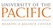 University of the Pacific Hearing & Balance Center logo