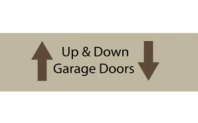 Up & Down Garage Doors logo