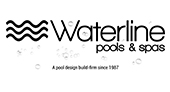 Waterline Pools & Spa logo