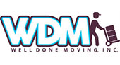 Well Done Moving logo