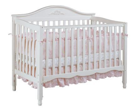 Picture of Recalled 3 -1 Convertible Crib - White Model # DAKM5132