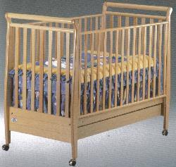 Picture of Recalled Amelia Model Number 185 Crib