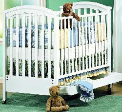 Picture of Recalled Glenda/Toscana Model Number 350 Crib
