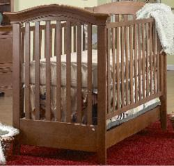 Picture of Recalled Hampton Model Number 303 Crib
