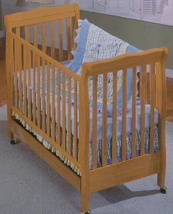 Picture of Recalled Jackie Model Number 440 Crib