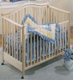 Picture of Recalled Jessica Model Number 810 Crib