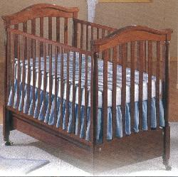 Picture of Recalled Leonardo Model Number 395 Crib