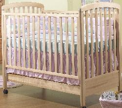 Picture of Recalled Nadia Model Number 245 Crib