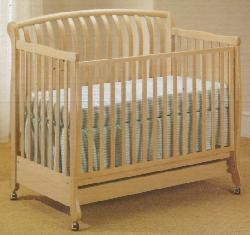 Picture of Recalled Natasha Model Number 900 Crib
